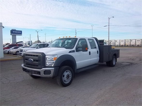 Pre-Owned 2015 FORD F550 XL SD